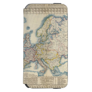 Military Political Map of Europe Incipio Watson™ iPhone 6 Wallet Case