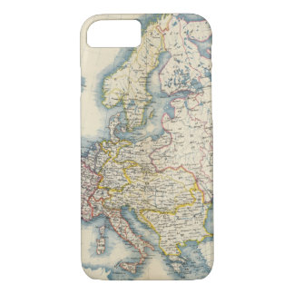 Military Political Map of Europe iPhone 7 Case