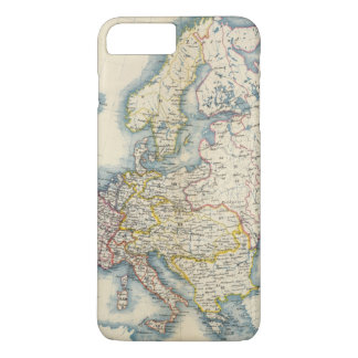 Military Political Map of Europe iPhone 8 Plus/7 Plus Case