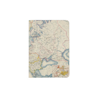 Military Political Map of Europe Passport Holder