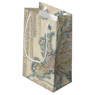 Military Political Map of Europe Small Gift Bag