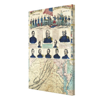 Military Portraits Canvas Print