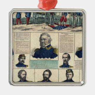 Military Portraits Ornament