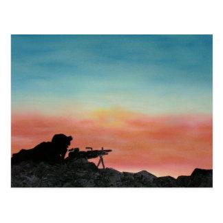 military postcard