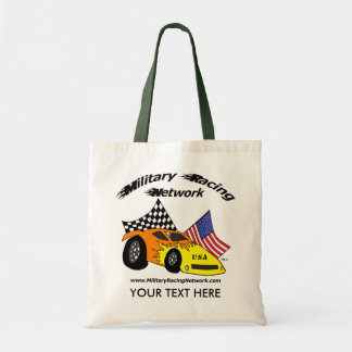 Military Racing Network Logo Bag Personalized