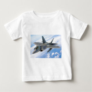 military raptor airplane fighter baby T-Shirt