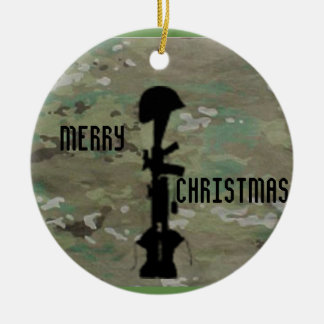 Military Remembrance Christmas Ornament
