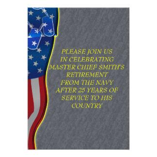 Military Retirement Invitation