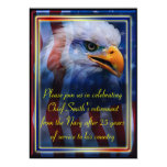 Military retirement personalized announcement
