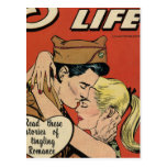 Military Romance Post Cards