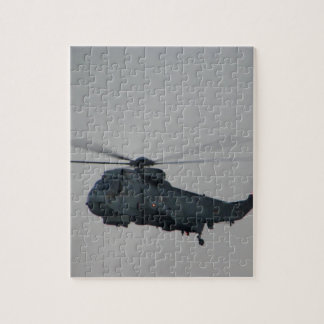 Military Sea King Helicopter Jigsaw Puzzle