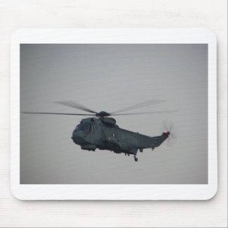 Military Sea King Helicopter Mouse Mat