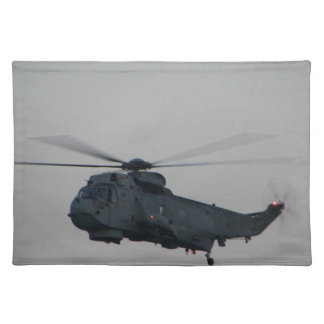 Military Sea King Helicopter Placemat