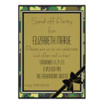 Military Send Off Party 13 Cm X 18 Cm Invitation Card