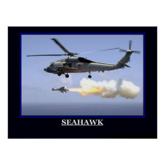 Military Ships Planes emblems Poster