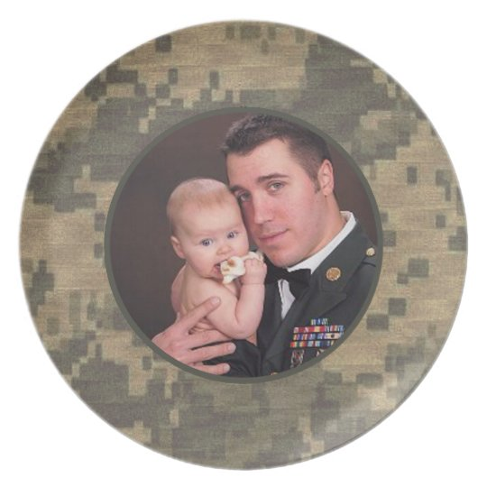 Military Soldier Custom Personalised Photo Plate