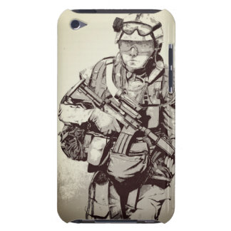 Military soldier iPhone case