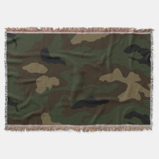 military soldier uniform camouflage pattern army t throw blanket
