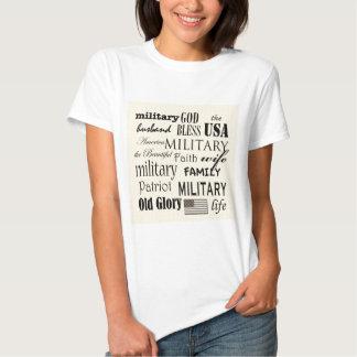 Military Subway Art T Shirts