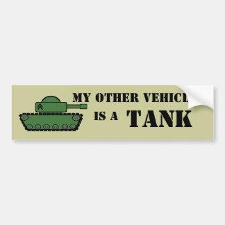 Military Tank Bumper Stickers