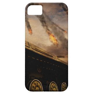 Military Tank on Battlefield iPhone 5 Case