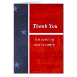 Military Thank You For Serving Our Country Custom