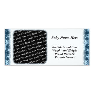 Military Themed Camo Birth Announcements