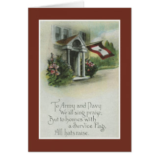 Military: Thinking of You Greeting Card