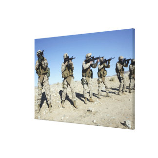 Military Transistion Team members Canvas Print