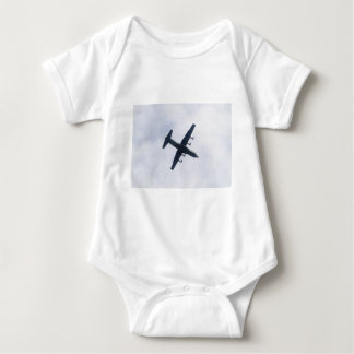 Military Transport Aircraft Baby Bodysuit