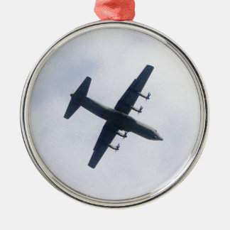 Military Transport Aircraft Christmas Ornament
