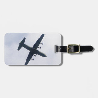 Military Transport Aircraft Luggage Tag