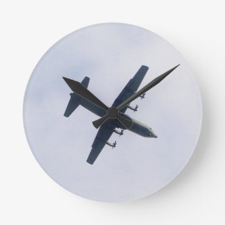 Military Transport Aircraft Round Clock
