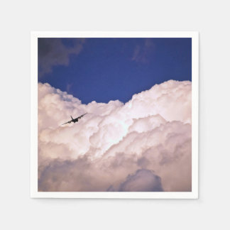 Military Transport Airplane by Shirley Taylor Disposable Napkins