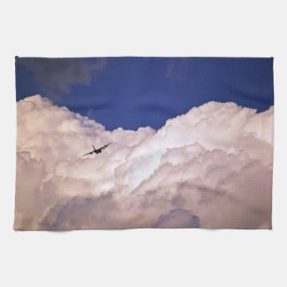 Military Transport Airplane by Shirley Taylor Tea Towel