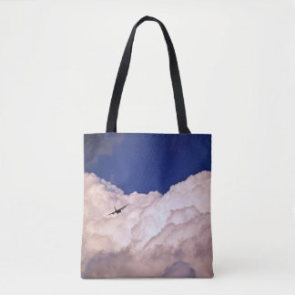 Military Transport Airplane by Shirley Taylor Tote Bag