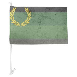MILITARY UNIFORM PRIDE FLAG CAR FLAG