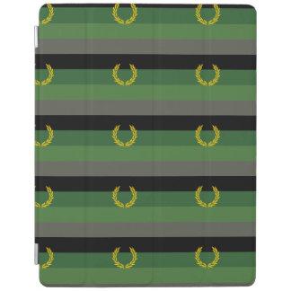 MILITARY UNIFORM PRIDE FLAG iPad COVER