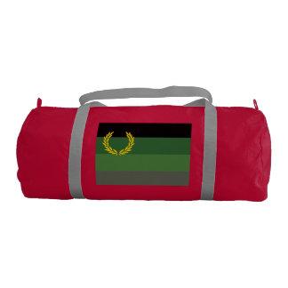 MILITARY UNIFORM PRIDE FLAG GYM DUFFEL BAG