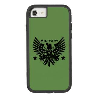 MILITARY VET_black design Case-Mate Tough Extreme iPhone 8/7 Case