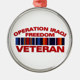 Military Veteran Operation Iraqi Freedom Ornament
