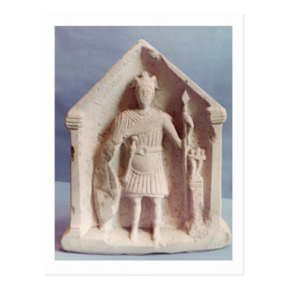 Military votive tablet, found at Bisley, Roman (st Postcard