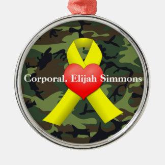 Military War Veterans Keychain Christmas Ornament