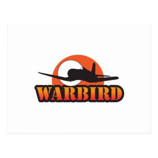MILITARY WARBIRD POSTCARD