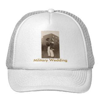 Military Wedding Cap