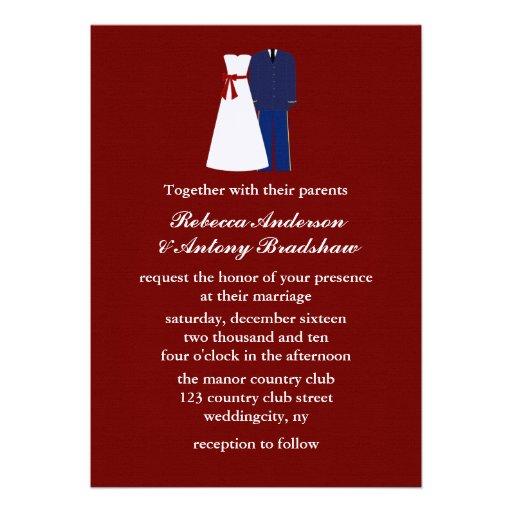 military wedding invitations 13 cm x 18 cm invitation card zazzle