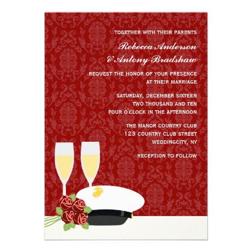 Military Wedding Invitations 13 Cm X 18 Cm Invitation Card