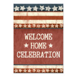 Military Welcome Home Party Photo 13 Cm X 18 Cm Invitation Card