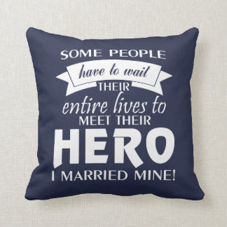 Military Wife Cushion