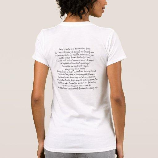 Military Wife's Prayer T-shirt